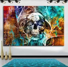 möbel wohnen wandbilder abstrakte kunst leinwand