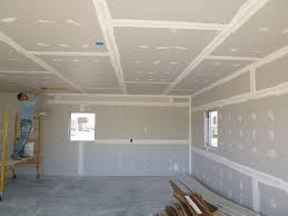 Hanging Drywall On Ceiling Or Walls First by How To Install Drywall