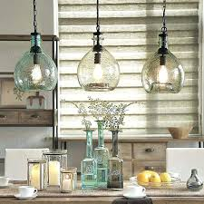 Pottery Barn Kitchen Ceiling Lights by Mercury Glass Pendant Light Pottery Barn Globe Kitchen Beach With