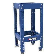 kreg universal bench with standard height legs workspace