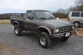 1982 Toyota Truck The Street Peep 1982 Toyota Hilux 4x4 Pictures Of Sr5 Sport Truck 2wd Rn34 198283 44toyota Trucks Uncategorized Curbside Classic When Compact Pickups Roamed 2009 August Toyota Pickup Album On Imgur Bangshiftcom This Could Be The Coolest Rv Ever Solid Axle 2wd Pickup Suspension Upgrade Suggestions Minis For Sale Classiccarscom Cc1071804 Hiace Wikipedia Information And Photos Momentcar