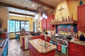 Themed Kitchen Decor Rustic Mexica