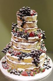 Great Naked Wedding Cake Cost B22 In Images Gallery M46 With Attractive