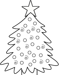 Christmas Tree Coloring Page Print by Kids Christmas Tree Coloring Pages Christmas Coloring Pages Of