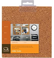 quartet cork tiles for bulletin boards 6 x 6