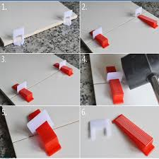 Floor Tile Spacers And Levelers by 200pcs Pack Tile Leveling System Wedges And Clips Spacer Plastic