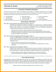 Training Manager Resume Fascinating Executive Sample For Personal Trainer