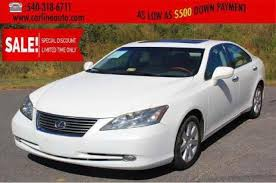 used lexus es 350 for sale in king george va edmunds