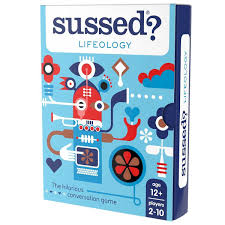Sussed Pocket Card Game Lifeology For Families Adults And