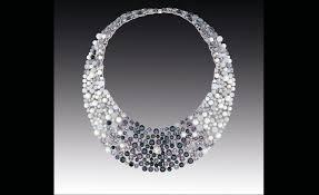 100 Rosee Chanel Contrastes Collection Collier Perle De