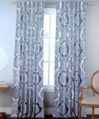 collection in blue paisley curtains and nicole miller medallion