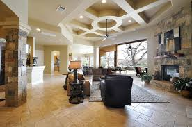 InteriorDelighful Rustic Living Room Design With Beautiful Ceiling Lighting Idea Modern Chic Home