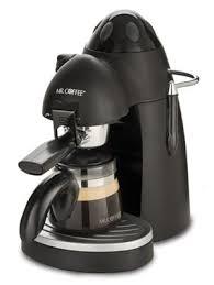 Mr Coffee Steam Espresso Cappuccino Maker Ecm20