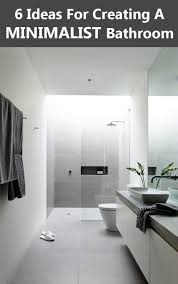 6 Ideas For Creating A Minimalist Bathroom   CONTEMPORIST New Modern Minimalist Bathroom Ideas Best Picture Hd Plaieautifulmornbarosonhomedesignwithis Spacious Design 3d Render Stock Photo 5 For Every Taste Staged4more Simple Designs Fr Small Spaces Dhlviews 42 Gorgeous But Looks Luxurious Inspiration Hugo Oliver Bright Glass Shower Edit Now Bathroom Tips Purist Design Hansgrohe Sg 40 Style Bathrooms 48 Ingenious Contemporary Inspiring