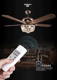 Retractable Blade Ceiling Fan Singapore by Online Buy Wholesale Crystal Ceiling Fan From China Crystal