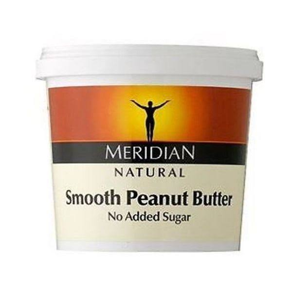 Meridian Natural Smooth Peanut Butter - 1kg