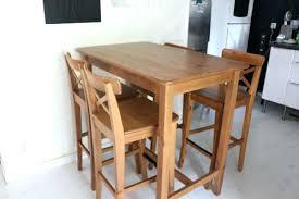 petites tables de cuisine grande table de cuisine extraordinaire table haute avec chaise