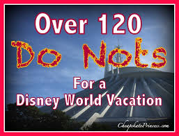 Disney Store Scares Up An by 120 Walt Disney World Do Nots Tips From Real People On How Not To