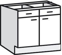 meuble bas cuisine meuble bas 80cm 2 portes 1 tiroir bali blanche brico dépôt