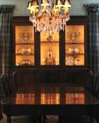display cabinet lighting ideas
