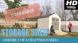 4x6 Wood Storage Shed by Craftsman Outdoor Storage Shed With Wooden Platform U0026 Ramp Time