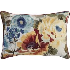 Pier One Outdoor Throw Pillows by Watercolor Floral Lumbar Pillow Pier 1 Imports