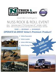 Nuss Rock & Roll Event 2016 - Nuss Truck & Equipment News And Events Nusstruckequipment Nussgrp Twitter Farm Fest 2016 Nuss Truck Equipment News And Events Brilliant Semi Trucks For Sale Rochester Mn 7th And Pattison Aths Antique Show Springfield Mo Pt 5 Goodyear Enlists Mack Truck To Moor Its Famous Blimp Medium Duty File1926 Intertional Harvester Fniture 5080983124jpg Photos Facebook Truckpapercom Lvo Vnl64t780 For Vhd64b200 Supermoon Advertising Agency 5061521890jpg
