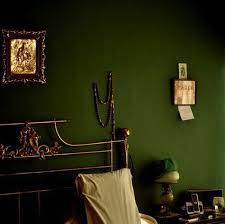 schlafzimmer ideen grün gold