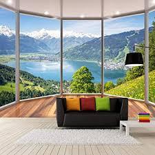 tapeten wandbilder modern creative balkon französische