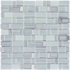Thinset For Glass Mosaic Tile by Elida Ceramica Windows Silver Mixed Material Glass And Metal
