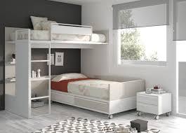 lits superposes d angle lit superposé d angle simple contemporain pour enfant