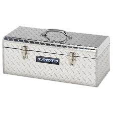 Lund 24 In. Aluminum Hand-Held Tool Box-5124T - The Home Depot