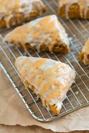 Easy Pumpkin Chocolate Chip Scones by Perfectly Spiced Pumpkin Scones Recipe