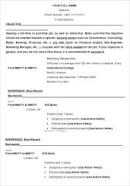 resume formats 2015 sle format of resume resume template exle exle resume