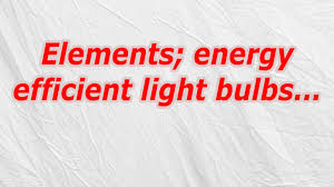 elements energy efficient light bulbs crossword codycross