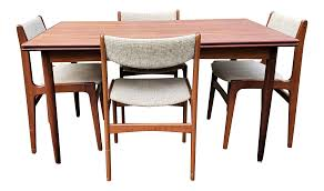 D-Scan Mid Century Modern Danish Teak Dining Table And Chairs | Chairish Danish Mondern Johannes Norgaard Teak Ding Chairs With Bold Tables And Singapore Sets Originals Table 4 Uldum Feb 17 2019 1960s 6 By Greaves Thomas Mcm Teak Table Niels Moller Chairs Etsy Mid Century By G Plan Round Ding Real 8 Seater Jamaica Set Temple Webster Nisha Fniture Sheesham Wooden Balcony Vintage Of 244003 Vidaxl Nine Piece Massive Chair On Retro