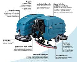 Tennant Floor Scrubbers 5680 by Walk Behind Floor Scrubber Rentals