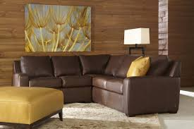 Brown Leather Sofa Living Room Ideas by Decorating Brown Leather Sectional Sleeper Sofa For Living Room