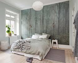 nordisch eingerichtetes schlafzimmer wandbilder