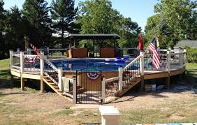 Above Ground Pool Ladder Deck Attachment by Cute Aboveground Decks I In This Above Ground Deck Also Silca