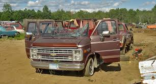 Parting Out An Old Van Vehicle 2012 Salvage Fuel