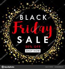 50 Off On Black Friday by Black Friday Sale On Black Label Banner Template U2014 Stock Vector