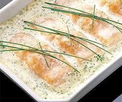 cuisiner filet de saumon filets de saumon à la crème ciboulette betty bossi