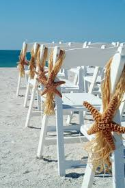 Beach Wedding Aisle Decor Starfish Chair Hanger
