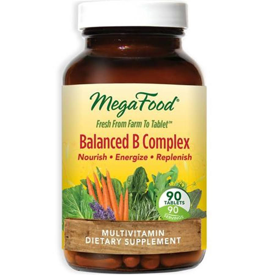 Megafood Balanced B Complex Supplement - 90 Count