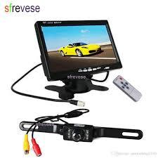 100 Best Backup Camera For Trucks 7 LED IR Car Vehicle License Plate Reversing Parking Sensor