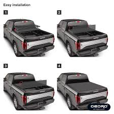 OEdRo TRI-FOLD Truck Bed Tonneau Cover Compatible With 2015-2019 ... Bak Industries 126403 Truck Bed Cover Bakflip Fibermax 3 Top Rated Retractable Tonneau Covers For Toyota Tacoma Choose 10 Best 2019 Reviews Rack Active Cargo System Roof Tent Bracket Bestop 7630335 Supertop 778480205900 Ebay Nissan Frontier Top And Titan Nutzo Tech 1 Series Expedition Nuthouse Weathertech Roll Up Installation Video Youtube The Lweight Ptop Camper Revolution Gearjunkie For Pickup Trucks Diamondback Review Essential Gear Episode In Tailgate Ramps Helpful Customer