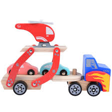 100 Toy Car Carrier Truck Rolimate Wooden Rier And S Wooden Set With 1