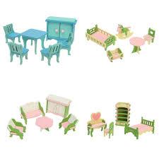 Mansion KidKraft Doll House Furniture Elevator Wooden Elf On A