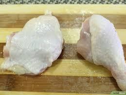 comment cuisiner une cuisse de poulet comment désosser une cuisse de poulet 10 é